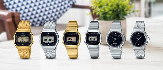 Những mẫu đồng hồ Casio
