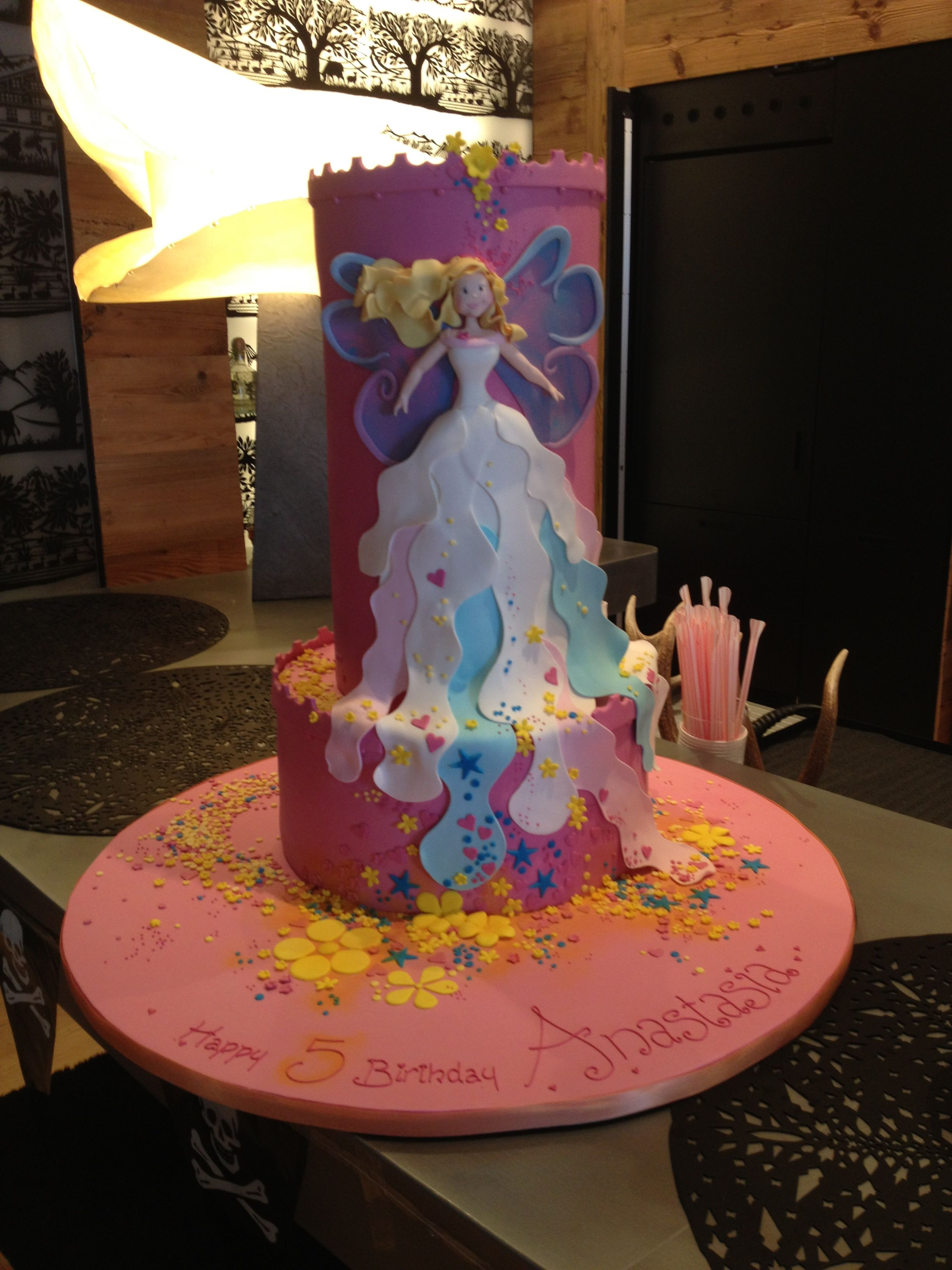 Fantastic Fairy Cake for a Magical Fairy Themed Party