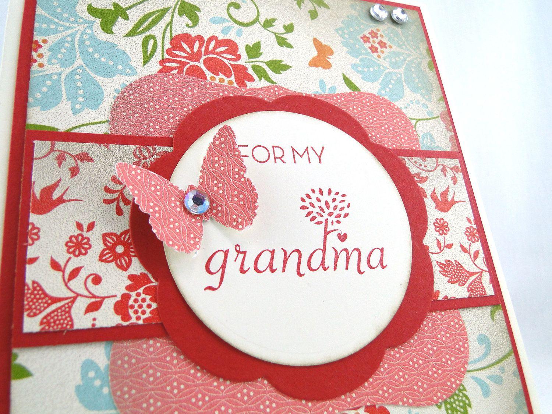 Handmade Birthday Cards For Grandma Google Search Scrapbook