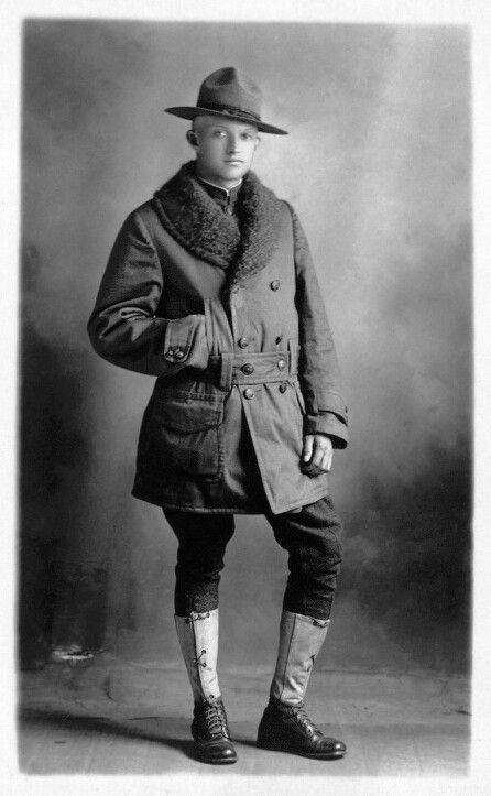 American doughboy 1918