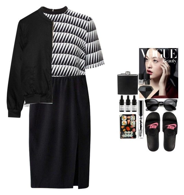 """not as easy as it seems"" by eviraeymaekers ❤ liked on Polyvore featuring moda, Tanya Taylor, Alygne, BLACK BROWN 1826, NARS Cosmetics, Areaware, Odacité, MAC Cosmetics ve Jura"