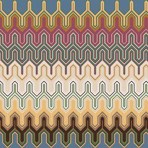 Missoni Mogle Fabric 160 Via Safari Living Fabric Cotton