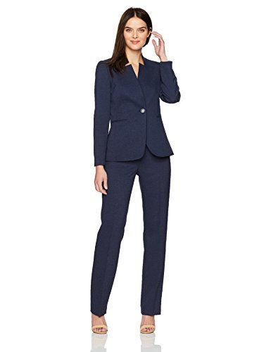 4e1361808b6f Best Female Business Suits 2018 Le Suit Women s Two Button Navy Pant Suit  Le Suit Women s Two Button Navy Pant Suit is nice and very sexy