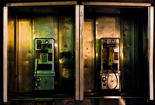 NYC Telephone Booths Are Following You (Seriously)