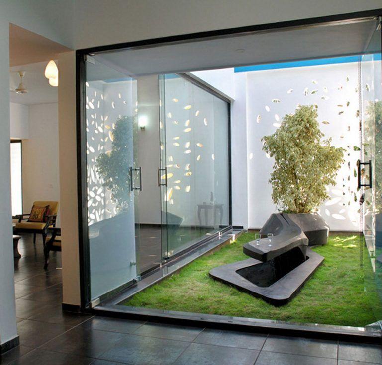 Homes with Indoor Garden Design Ideas #zengardens