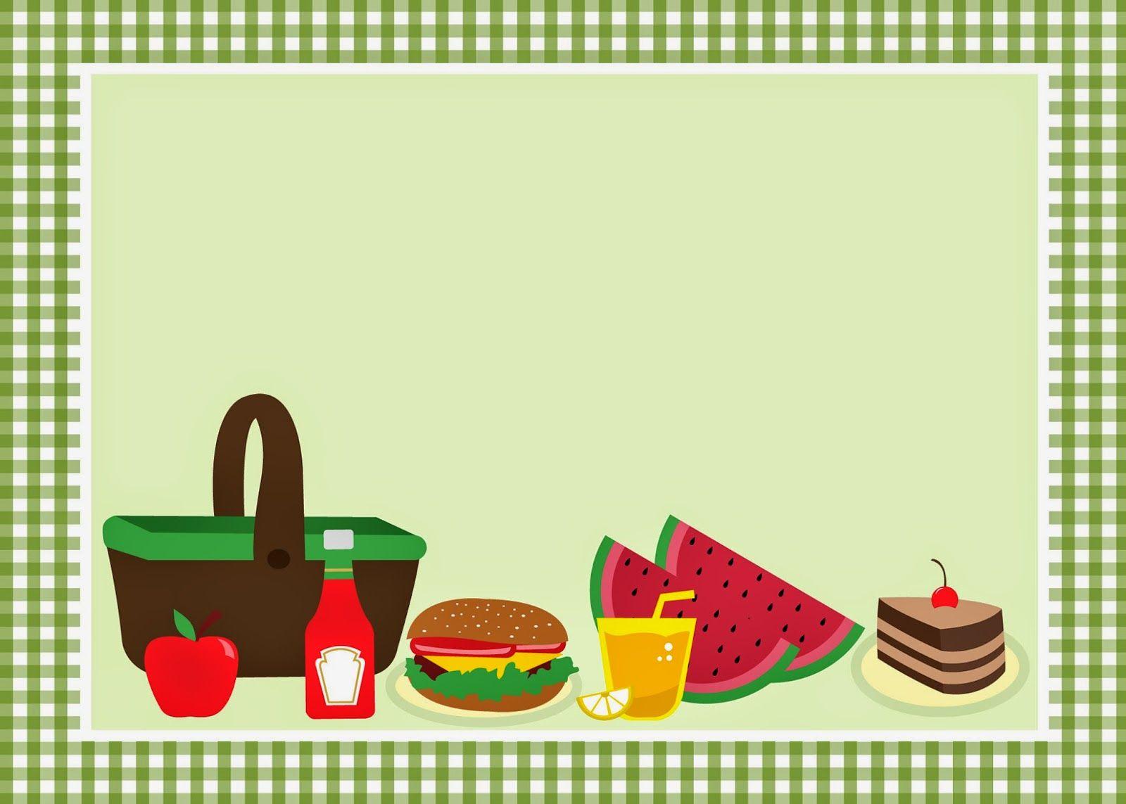 Пригласительные на пикник на русском, хорошего отдыха