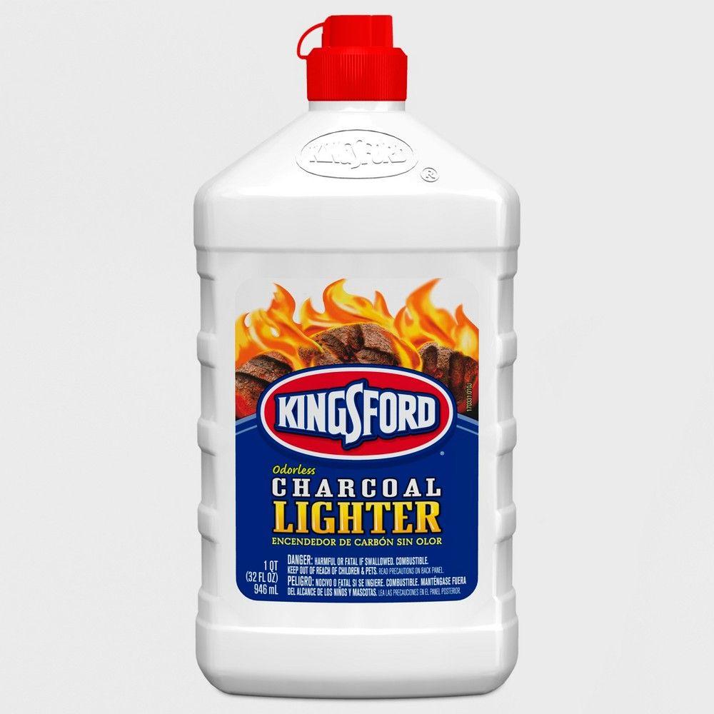 Kingsford 32oz odorless charcoal lighter fluid bottle in