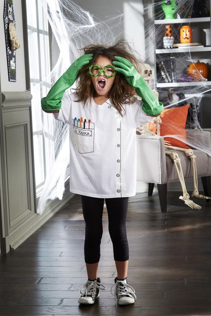 15 Easy T Shirt Costumes For Halloween Halloween Pinterest Mad