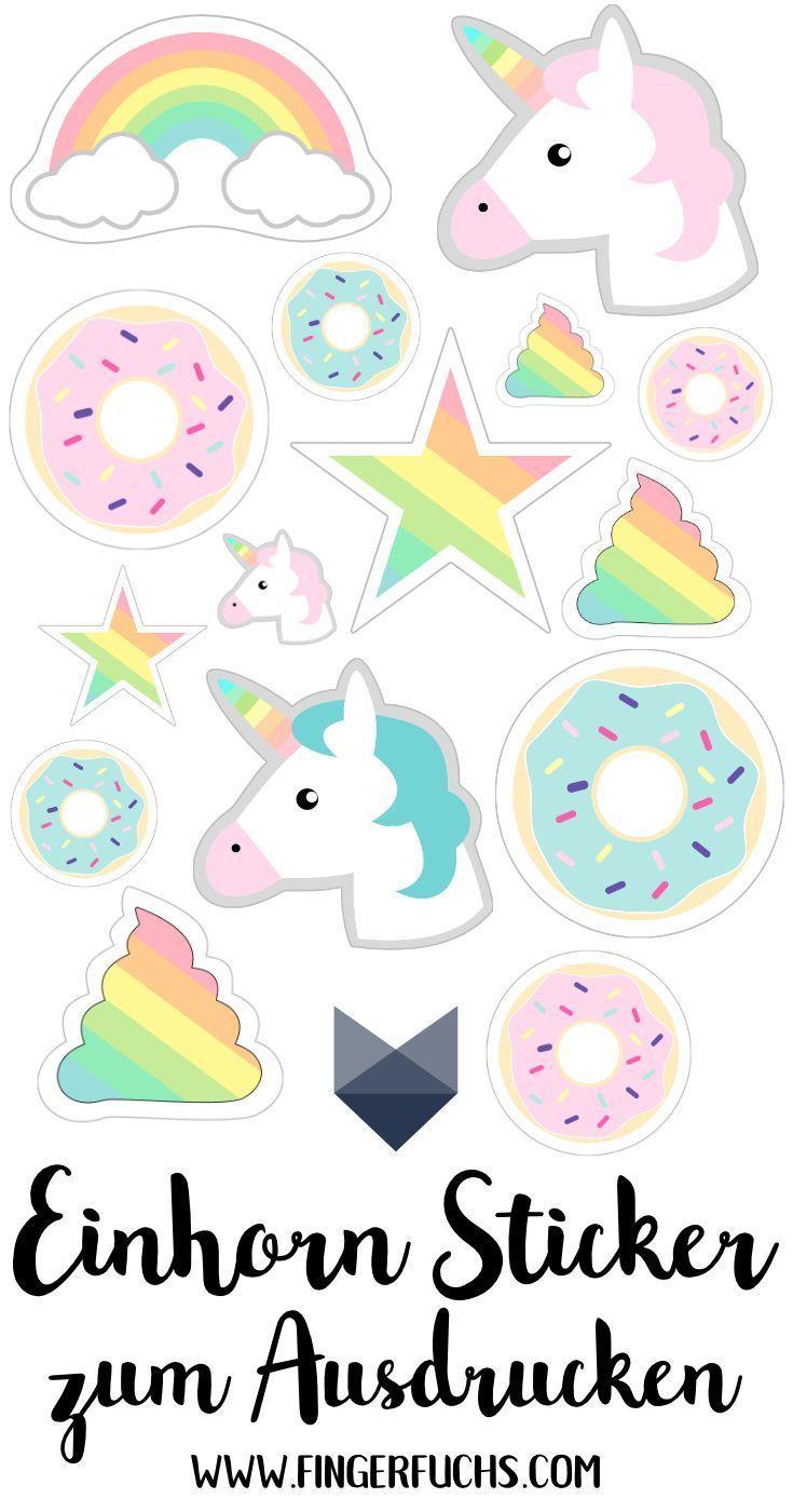 Sticker selber machen - Drei einfache Varianten mit tollen Sticker Freebies