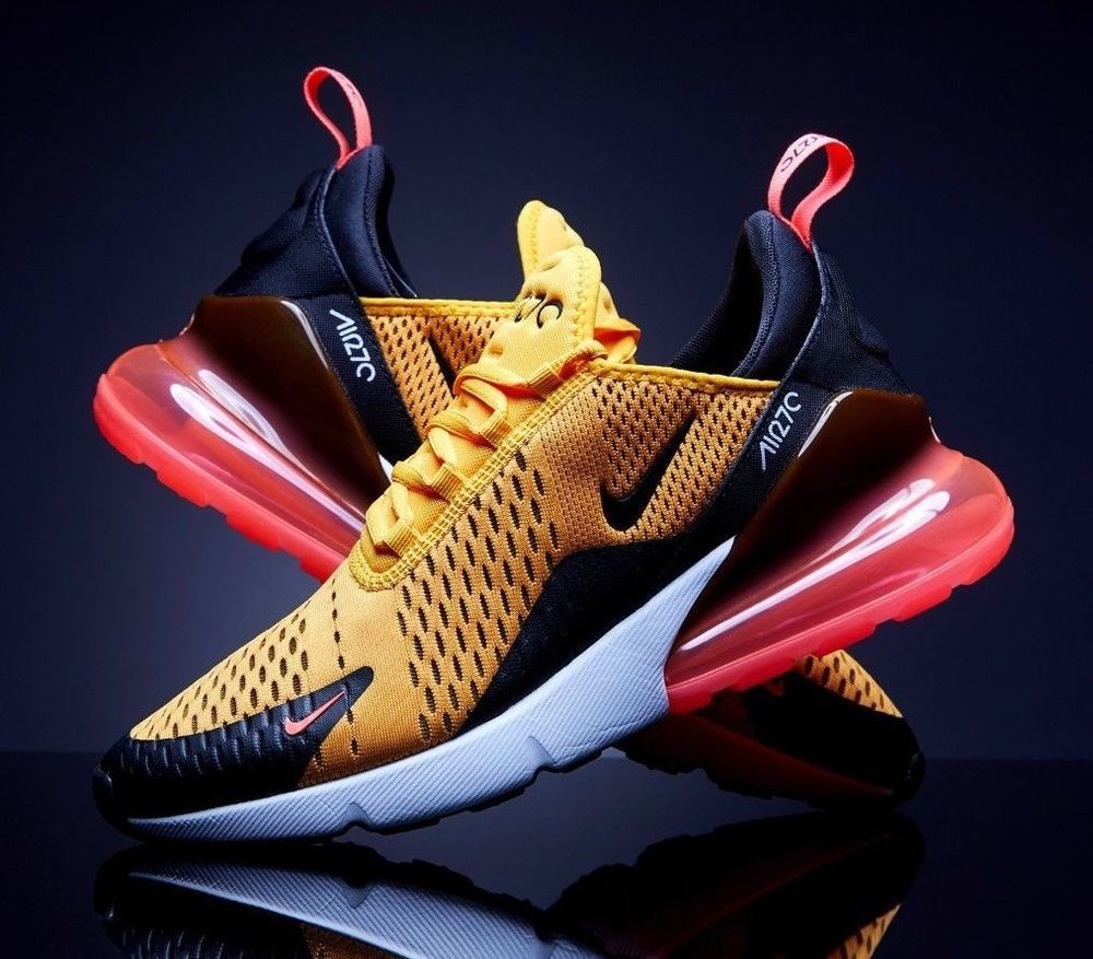 fresh styles new styles best wholesaler Details about Nike Air Max 270 Tiger University Gold Hot ...