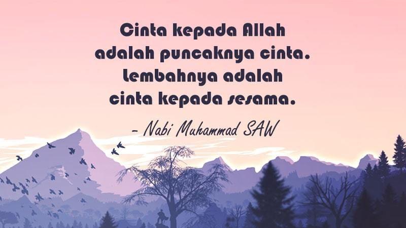 Kata Mutiara Cinta Islami Simple
