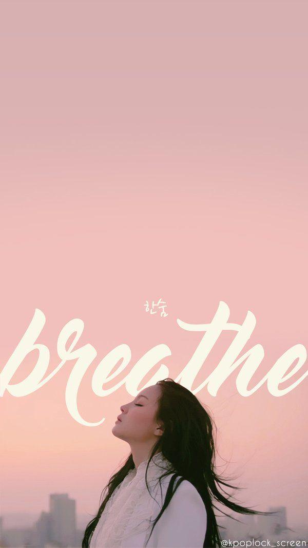 Yglockscreenworld Lee Hi Breathe Kpop Posters Yg Artist