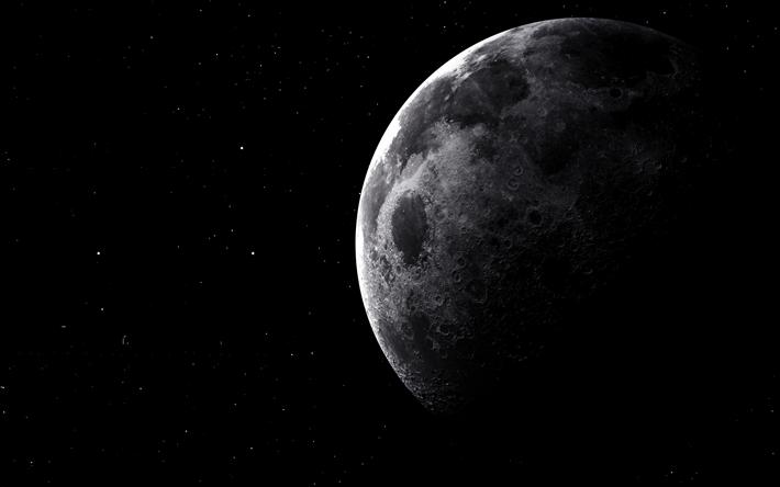 Sternenhimmel Le hintergrundbild 4k mond schwarzer himmel galaxie sternenhimmel