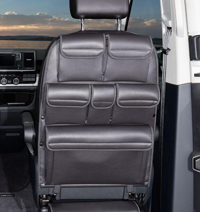 Utility For Cabin Seats Vw T6 T5 California Beach Multivan Design Leather Titanium Black Truck Camping Luxury Camping California Beach Camping