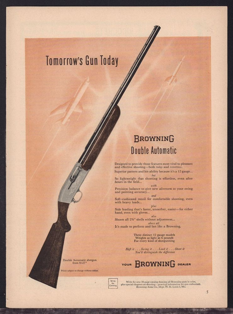 Details about 1955 Browning Automatic 5 Superposed Double