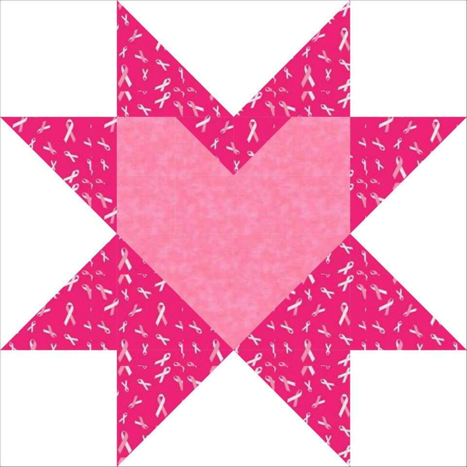 Hearts Of Hope Free Quilt Block Pattern At Www Countryjunktion Com Quilt Block Patterns Quilt Block Patterns Free Quilt Patterns Free
