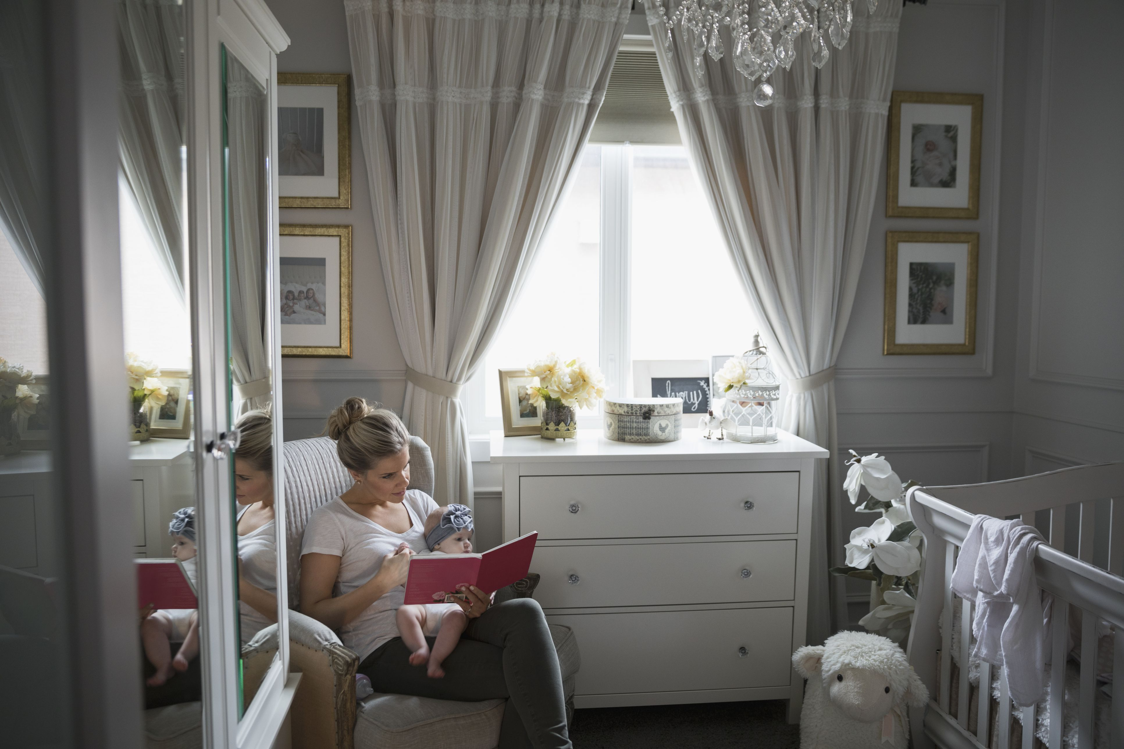 12 Types of Window Treatments for Bedrooms   Nursery window ...