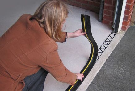 Garage Door Threshold Barrier 25mm High Available In A Variety