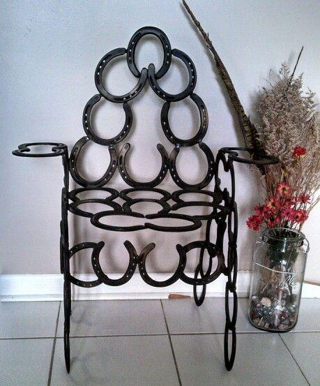 Elegant Horseshoe Chair ~ Artists Du0026D Stonebraker.