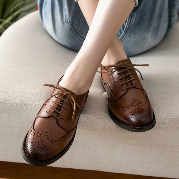 Brock British Style Women Oxford Shoes 34-42 – Gift Shoes | Women oxford  shoes, Oxford shoes, Oxford shoes heels