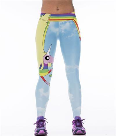 0e8b4ef4fc FuzWeb:Echoine New 3D Superman Print Fitness Sports Leggings Women High  Waist Elastic Workout Yoga
