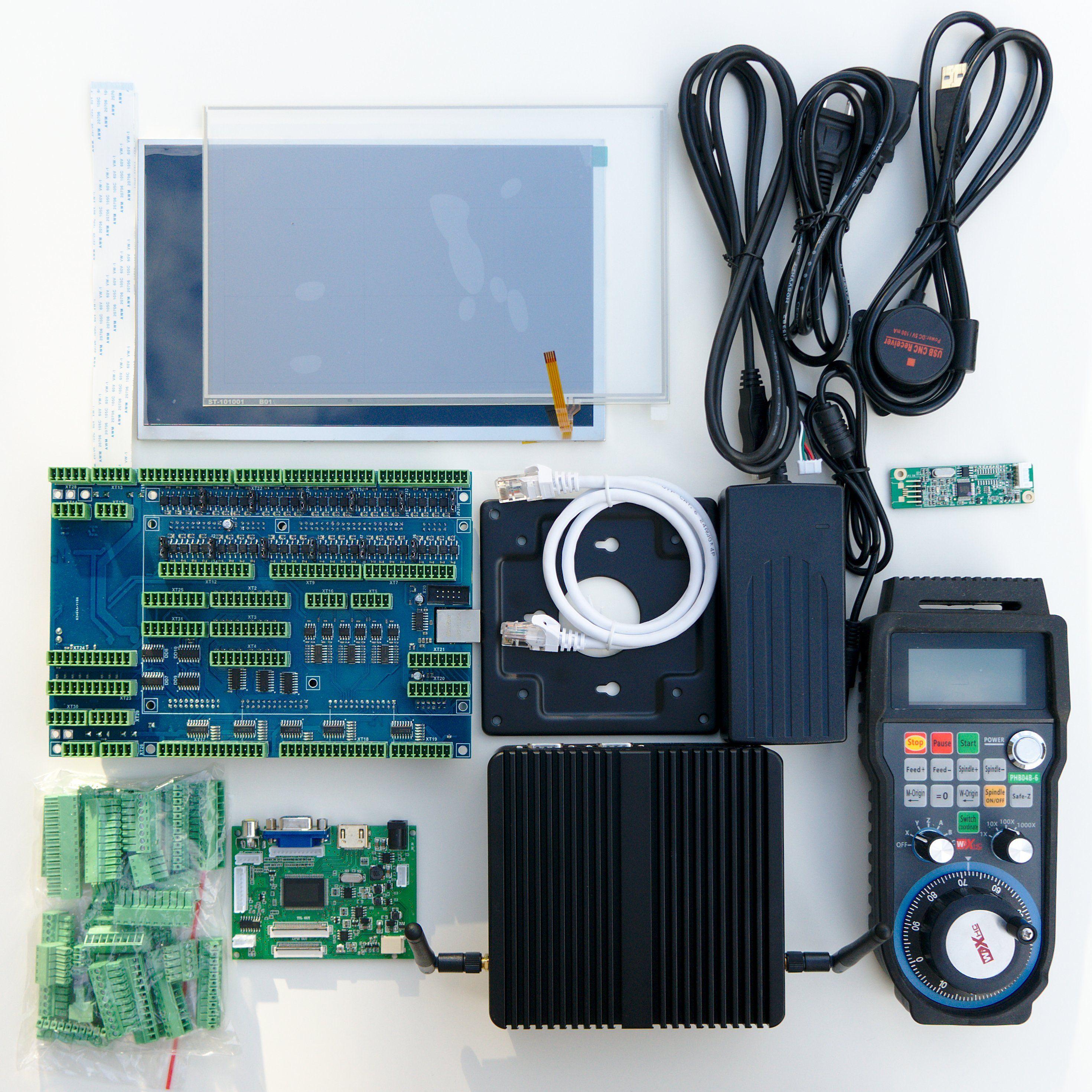 10PC2-ET10 CNC control kit includes myCNC-ET10 CNC controller board