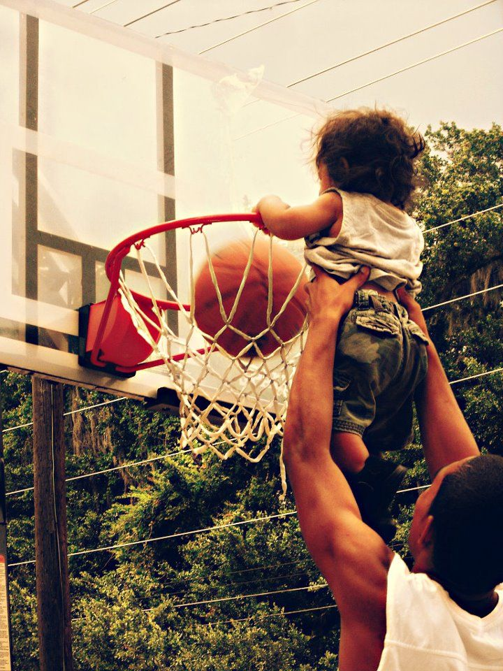Can't dunk? Won't dunk. You can all dunk! | Daddy and son ...