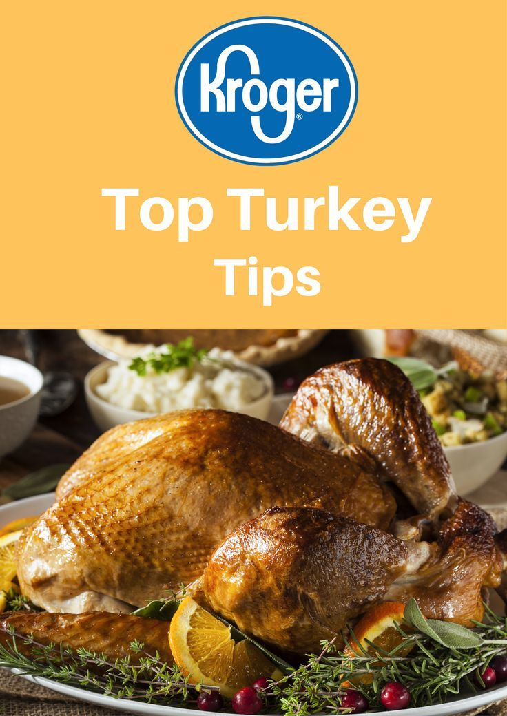 Our top #turkey tips for #Thanksgiving! This turkey tips post is sponsored by /krogerco/. Head to your local Kroger® for all of your Thanksgiving needs! #Kroger #ad