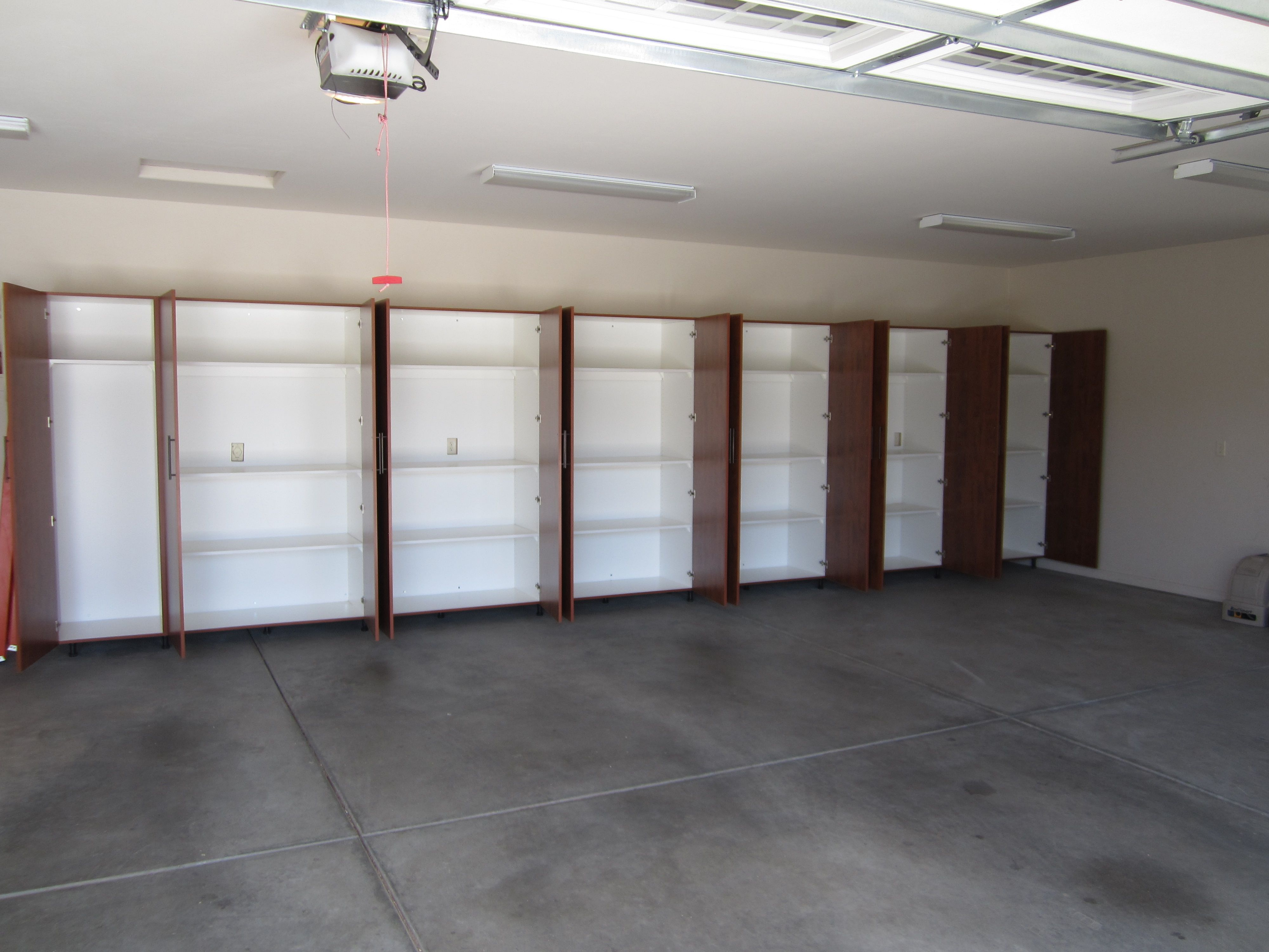 Interior view summerflame cabinets