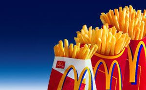 Mcdonald S French Fry Sizes Mcdonalds Fries My Favorite Food Food