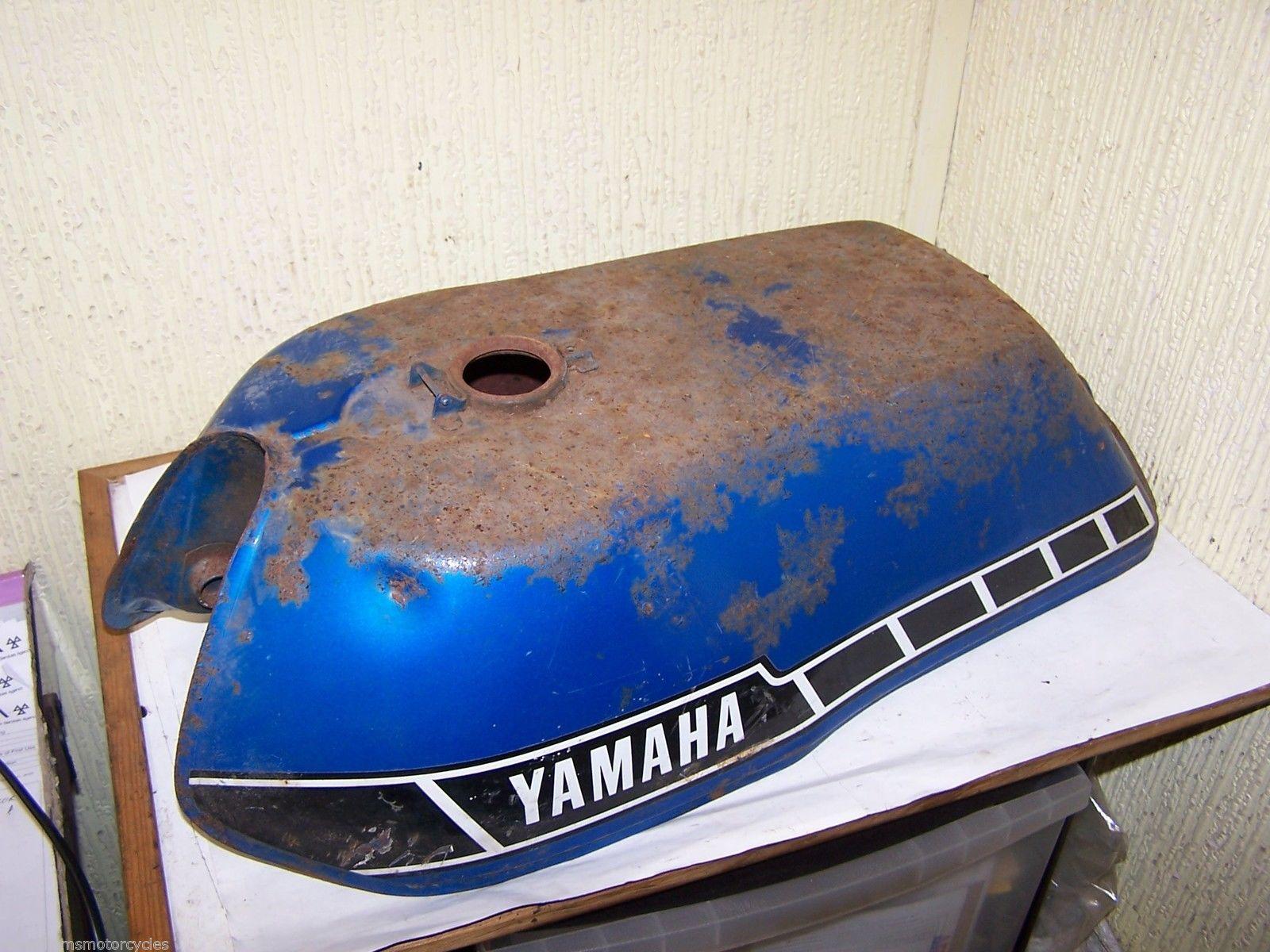 YAMAHA RD RD200 DX RD200DX RD125 Petrol Fuel Tank Blue