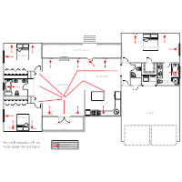Residential Evacuation Plan    Emergency Planning Examples