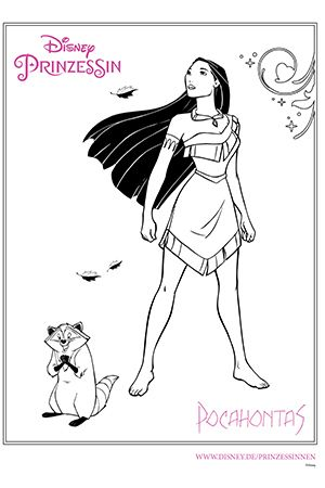 Disney Prinzessin Pocahontas Disney Coloring Pages Princess Coloring Pages Disney Colors