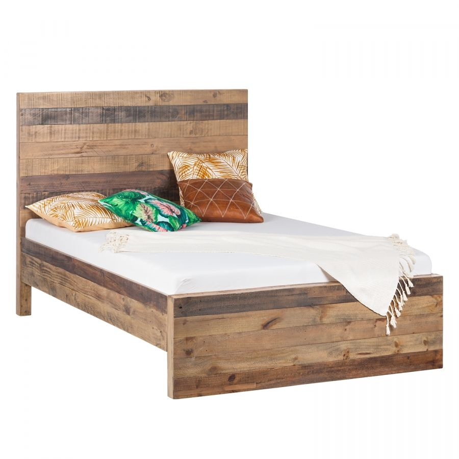 Massivholzbett Tamati Massivholzbett Bett Bett 200x200 Holz