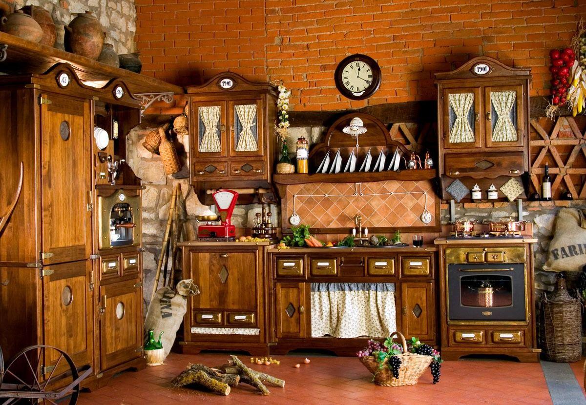 Küche Im Landhausstil Landhaus Stil Küchen Küche In Naturholz ...