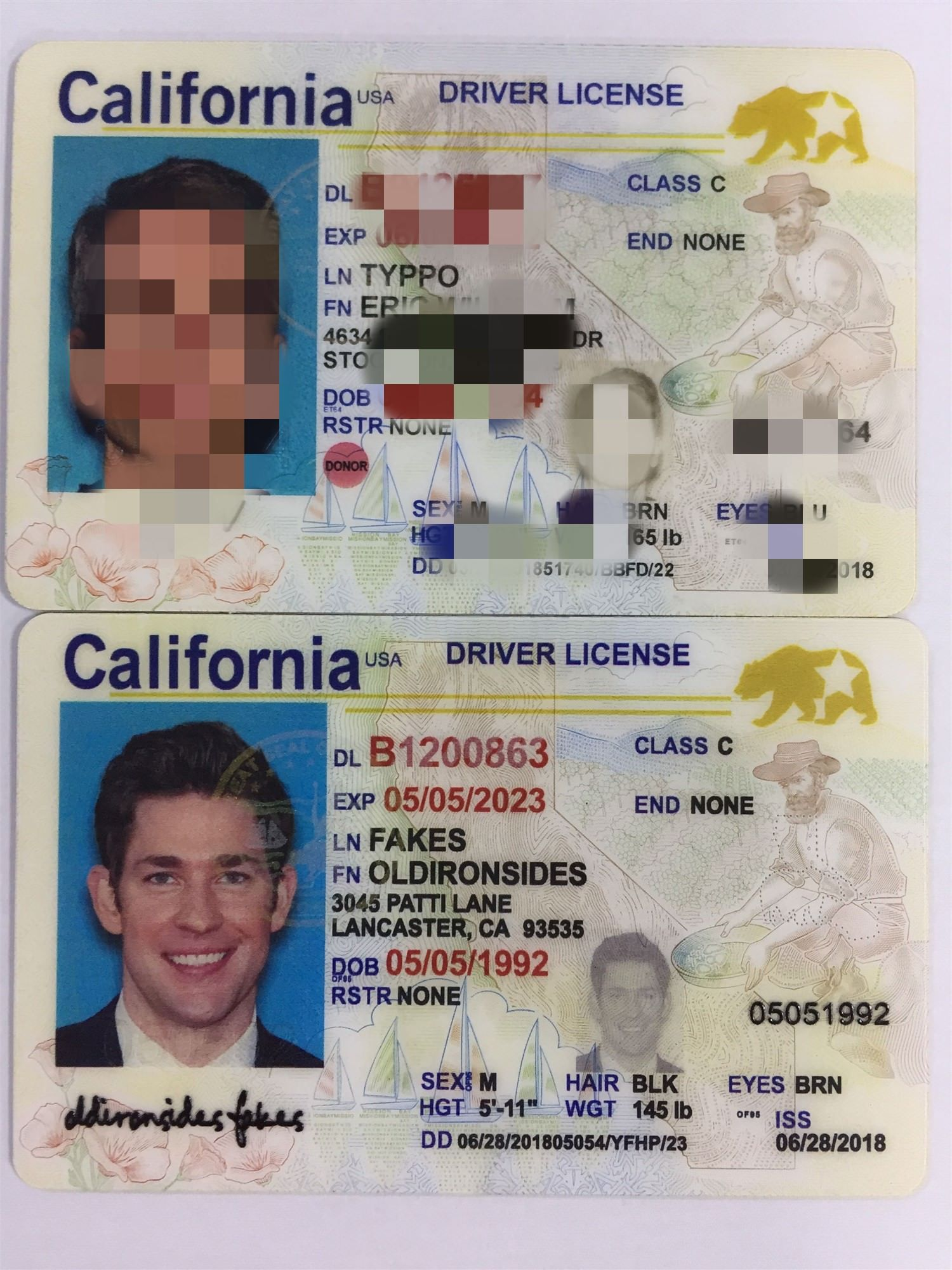 new New Id Real Registered Driver Drivers fake -buy Legally I… In Real Passports California Id Ca 2019… License And Fake