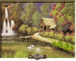 Paisajes De Ensue O Reales Landscape Painting Nature