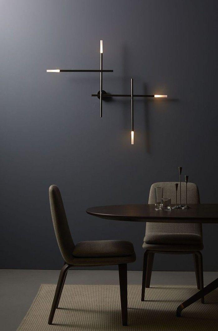 42 impressive Lichtideen für eine bezaubernde Wandbeleuchtung #dunklewände
