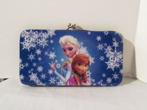 Disney-Frozen-Elsa-Anna-Womans-Wallet-with-Credit-Card-Slots-NWOT