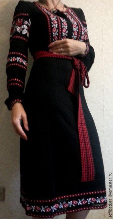Плаття трикотажне чорне Ніжність  4e9b661d8ac82