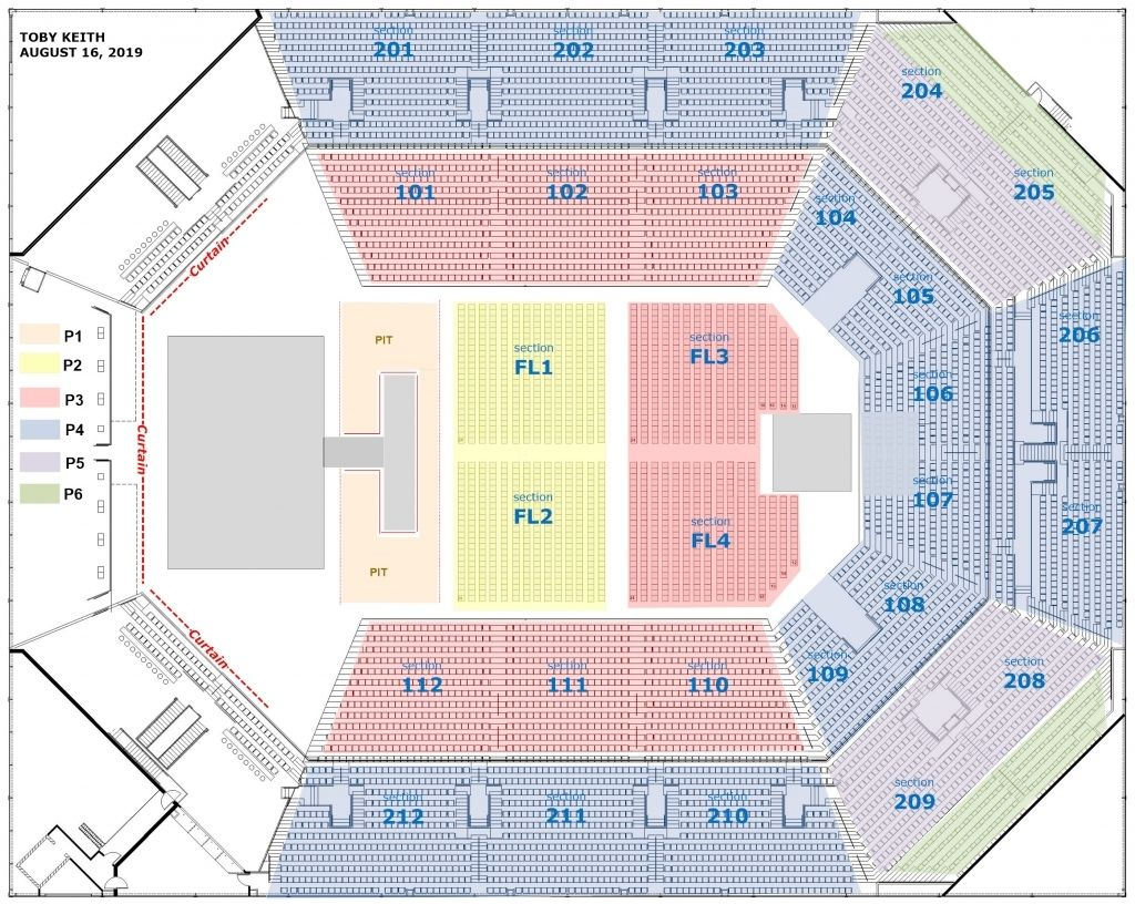 Bb T Pavilion Seating Chart With Seat Numbers