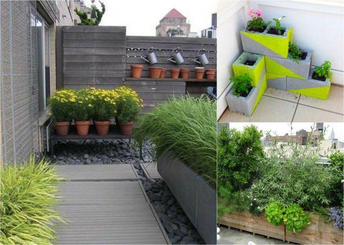 Macetas recicladas para decorar tu terraza ideas para el - Ideas para jardineria ...