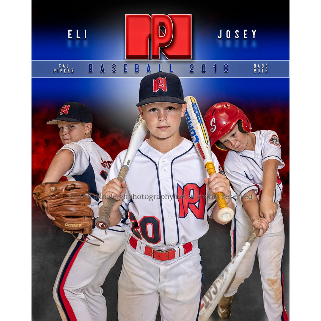 Youth Baseball Picture Sports Poster Sports Banner Baseball Sports Composite Sports Photograph Sports Sport Portraits