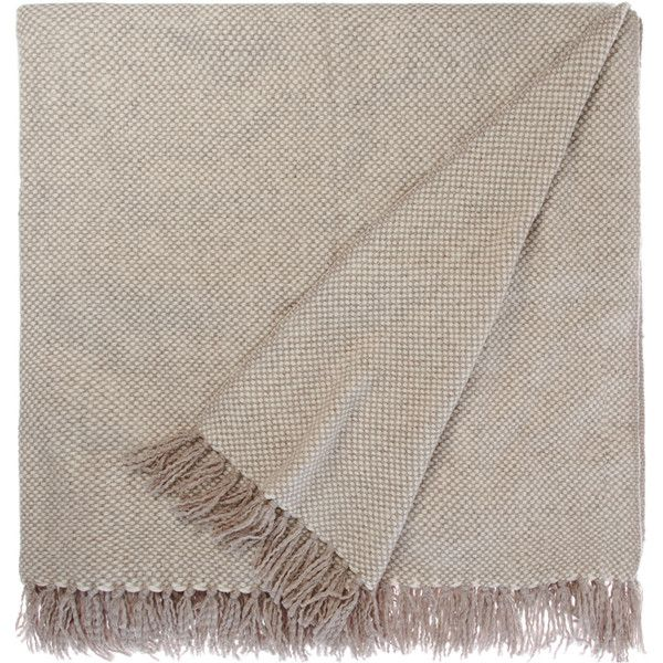 Barneys New York Cashmere Throw ($1,150) ❤ liked on Polyvore featuring home, bed & bath, bedding, blankets, fillers, throws, accessories, multi, basket weave blanket and cashmere throw