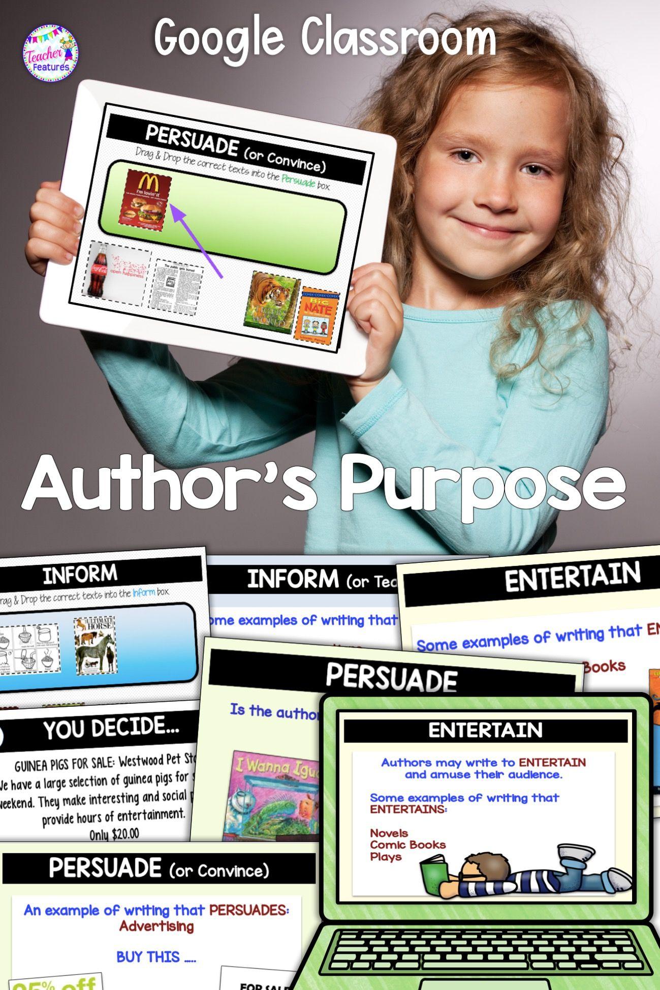 Persuade Inform Entertain Worksheets   Printable Worksheets and Activities  for Teachers [ 1947 x 1299 Pixel ]
