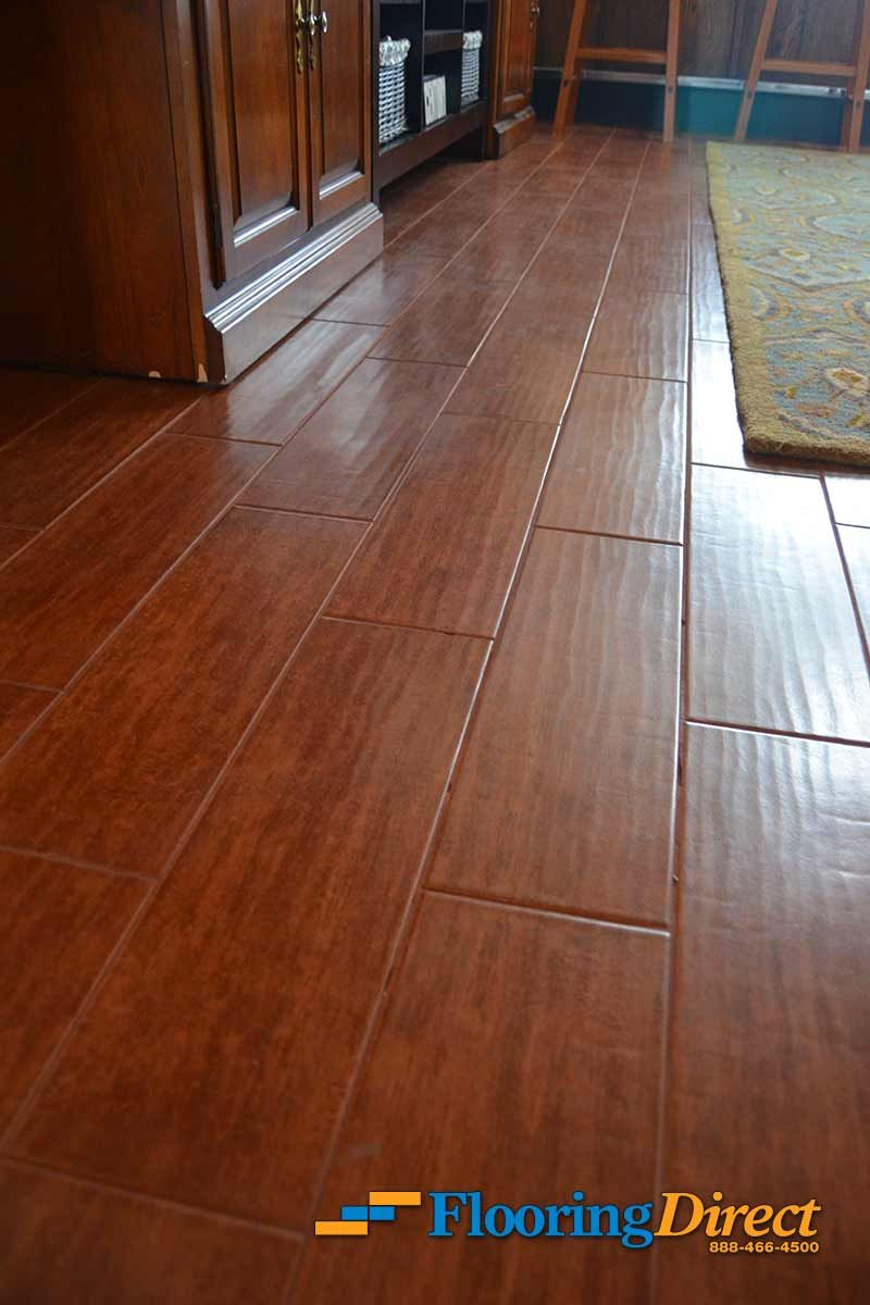 Made from glazed porcelain or ceramic tiles wood look tile is made from glazed porcelain or ceramic tiles wood look tile is designed to look nearly indistinguishable from engineered hardwood flooring doublecrazyfo Gallery