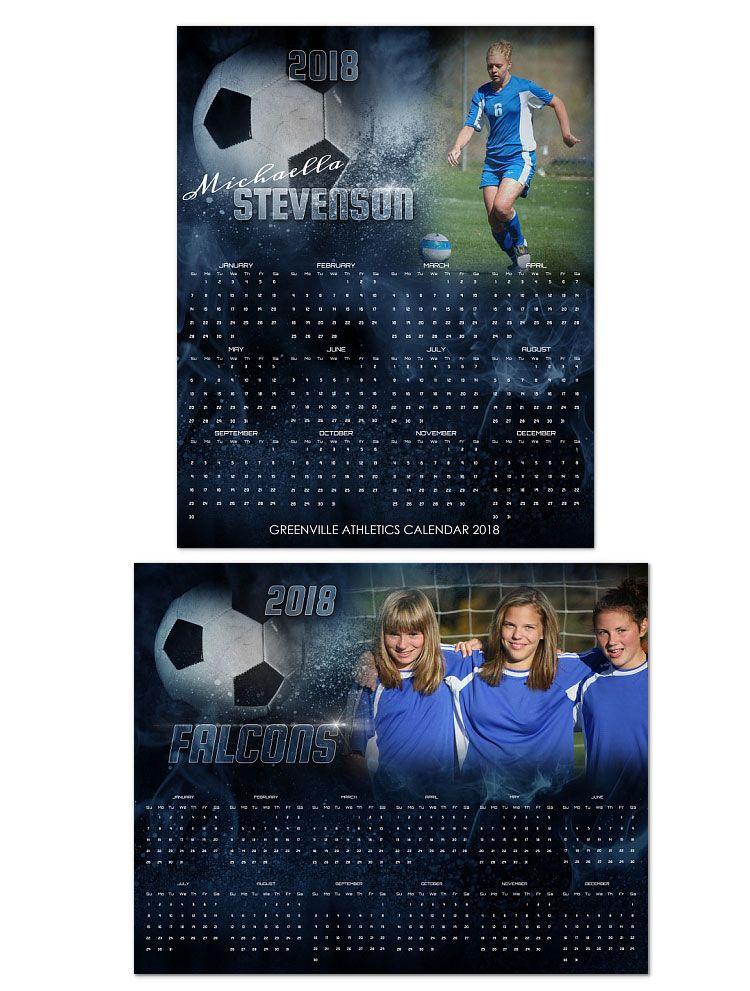 Pin By Arc4studio On Soccer Layouts Pinterest Calendar 2018