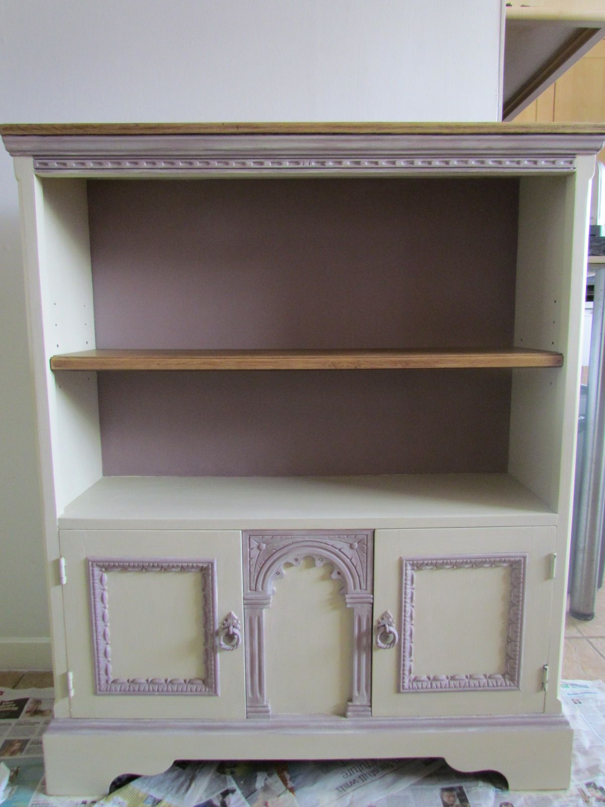 Tecnicas Para Pintar Muebles Old Charm Style Cabinet Painted In Autentico Chalk Paint