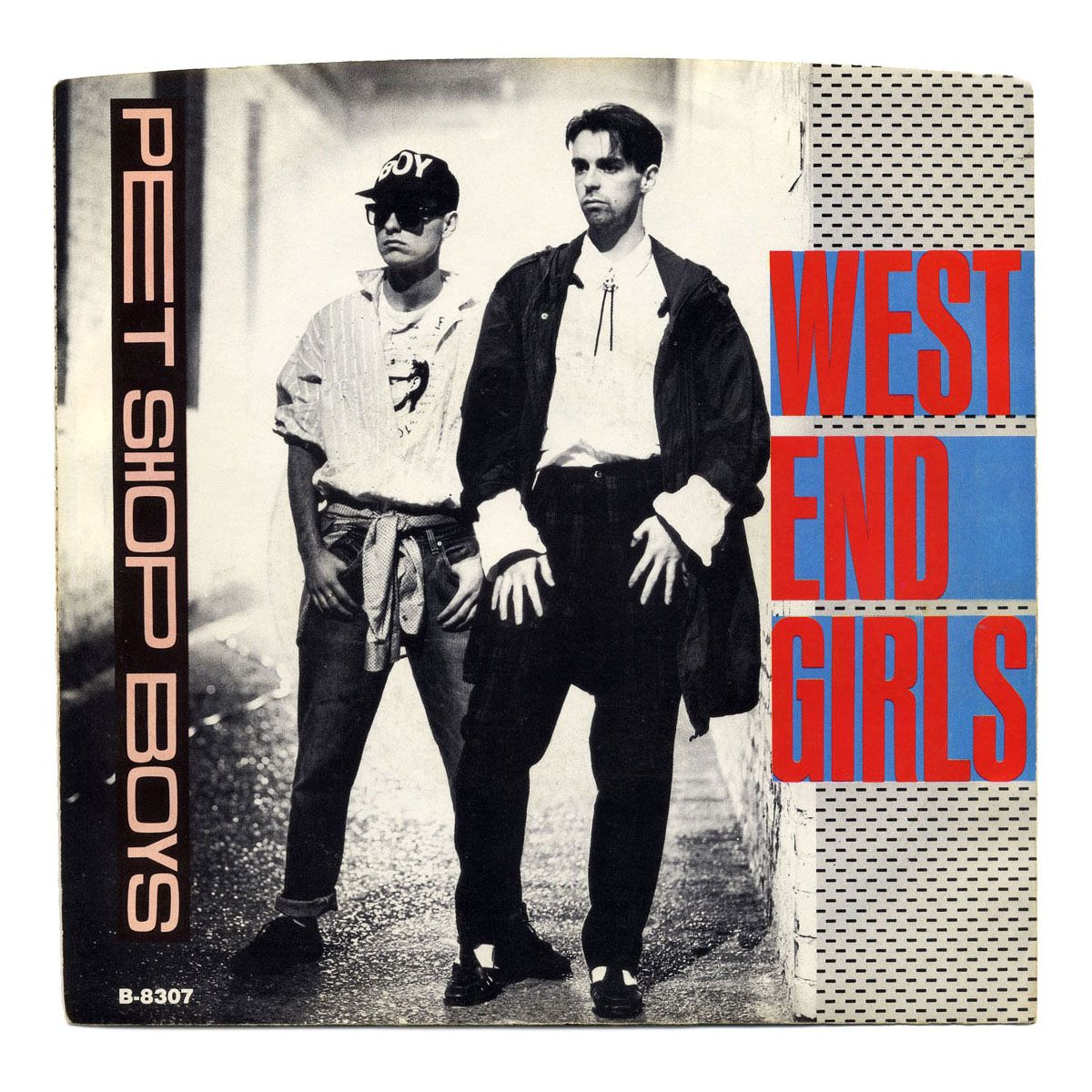 West End Girls B W A Guy Could Get Arrested Pet Shop Boys Emi America Records Usa 1985 Pet Shop Boys Pet Shop Record Sleeves