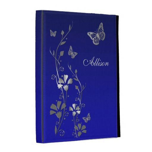Blue, Silver Butterfly Floral iPad (1,2,3) Folio iPad Cases lowest price for you. In addition you can compare price with another store and read helpful reviews. BuyDeals          	Blue, Silver Butterfly Floral iPad (1,2,3) Folio iPad Cases Review from Associated Store with this Deal...